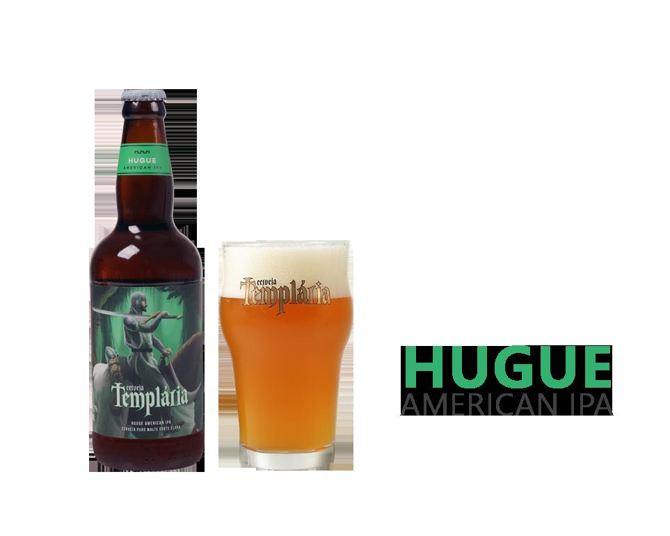 Cerveja Templária Hugue American IPA