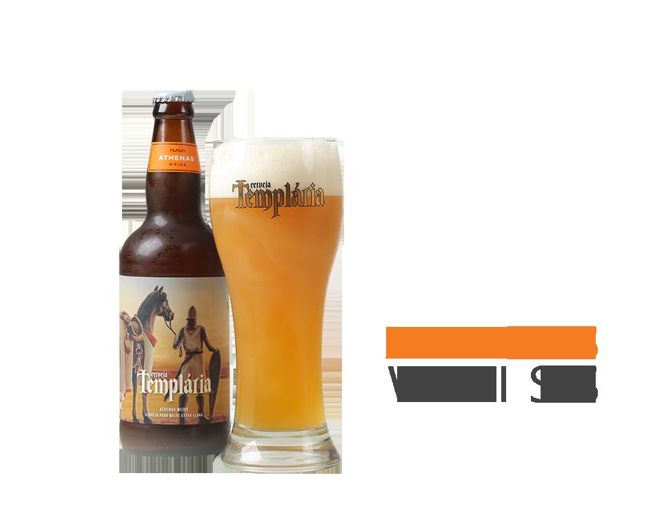 Cerveja Templária Athenas Weiss